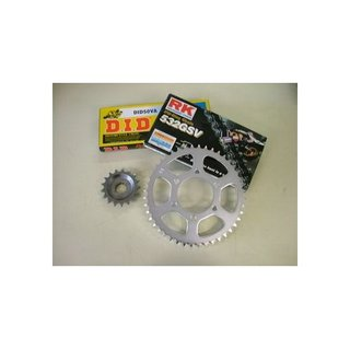 Chain Kit for all GPZ 1000 RX `86-`87 15x40 teeth, 632/94 links