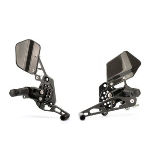 GILLES Rearset System For KAWASAKI ZX 6R 97 02 Reversed Shifting